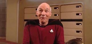 Meme Generator Picard - picard laugh blank template imgflip
