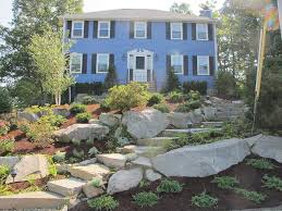 Ideas Landscaping Front Yard - wonderfull sloped front yard landscaping ideas inspirations
