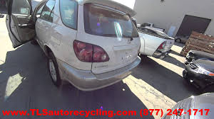 parting out 2000 lexus rx 300 stock 6053gy tls auto recycling