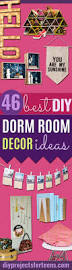 Guys Dorm Room Posters 46 Best Diy Dorm Room Decor Ideas Diy Projects For Teens