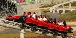 in abu dhabi roller coaster travel the s fastest rollercoaster