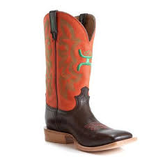twisted x s boots twisted x mens hooey cowboy boot neon green