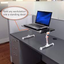 small stand up desk traveler folding stand up desk adjustable lap smalltravel size standing converter black steady sstrncbl 913 jpg v 1520438155