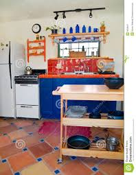 cute southwestern kitchen royalty free stock photography image