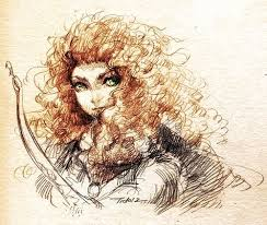 570 brave merida images princess merida