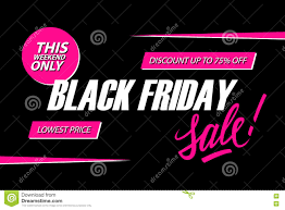 black friday pink sale black friday sale this weekend special offer banner discount up