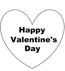 free clipart images valentines day black and while collection