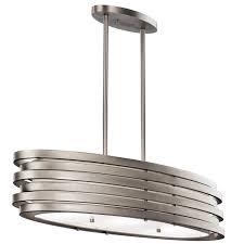 brushed nickel kitchen table brushed nickel kitchen island lighting jeffreypeak within