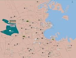 Doha Map Doha Map Pdf Lanahollabaugh Net78 Net