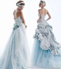 Blue Wedding Dress Light Blue Wedding Dress Platinum Weddings And Events