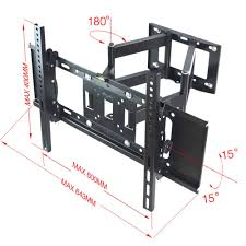 samsung 32 inch smart tv wall mount amazon com sunydeal articulating arm tv wall mount bracket for lg