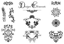 floral design ornament vector pack free vector
