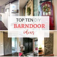 Barn Doors In House by My Top Ten Diy Barndoor Ideas By Jennifer Allwood