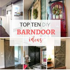 How To Hang A Barn Door by My Top Ten Diy Barndoor Ideas By Jennifer Allwood