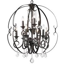 Crystal And Bronze Chandelier Lamps Crystal Globe Chandelier Antique Bronze Chandelier Bronze