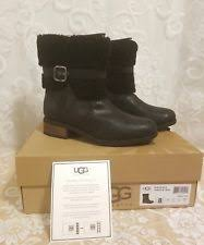 s ugg australia blayre boots ugg australia leather zip ankle boots for ebay