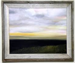 heavenly sky 16x20 oil on canvas board large frame 375