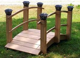yard bridge all things cedar garden bridge ghanadverts club