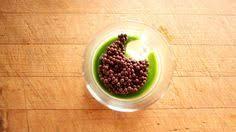 chocolate mint almond custard spherification recipes pinterest