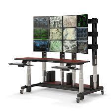 Control Room Desk Height Adjustable Control Room Console Afcindustries Com