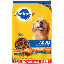 pedigree complete nutrition roasted chicken rice u0026 vegetable