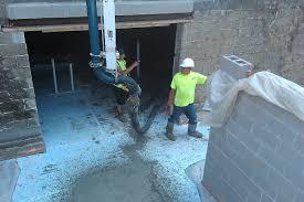 construction update pouring the new basement floor u2014 green u0026 main