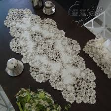 Coffee Table Runners Aliexpress Com Buy Beautiful Embroidered Table Cloth Embroidery