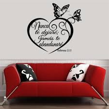 Christian Home Decor Spanish Wall Decals Inspirational Wall Decal Christian Home