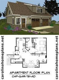 2 Story Garage Apartment Plans Craftsman Style 2 Car Garage Apartment Plan Live In The