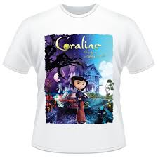 Filme Coraline Eo Mundo Secreto - camiseta coraline e o mundo secreto filme camisa r 34 90 em