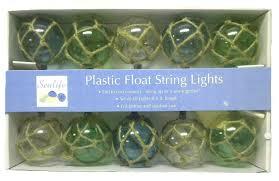 Nautical Patio Lights Nautical String Lights Nautical Retro Style Buoy Float Plastic