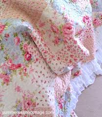 Shabby Chic Blue Bedding by Shabby Chic Quilts Full Queen Bedding Romantic Homes French