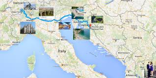 Milan Italy Map Our Euro Itinerary U2013 Italy Switzerland Croatia And Macedonia