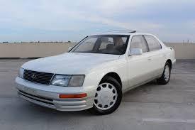 lexus coupe white 1995 lexus ls ls 400 luxury sedan 1995 lexus ls400 pearl white