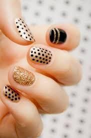55 simple nail art designs for short nails 2016 gold nail nice