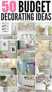 Budget Home Decor Websites Small Bedroom Ideas Pinterest Easy Decorating Diy Wall Decor