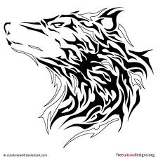 wolf tattoos liked on polyvore featuring accessories and