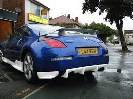 nissan 350z roof rack nissan 350z z33 nismo 1 style rear bumper spats meduza design ltd