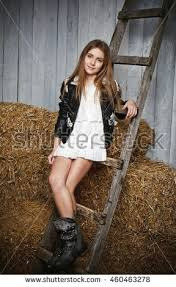 very beautiful blonde young white stock photo 460463254
