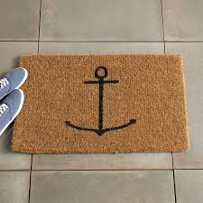 Fun Doormat Anchor Coir Doormat West Elm