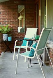Turquoise Patio Chairs How To Makeover Your Patio Furniture On The Cheap The Decor Guru