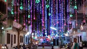navaratri best lighting decoration in new vadaj ahmedabad youtube