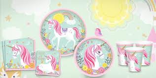 unicorn birthday party magical unicorn party supplies unicorn birthday party party city