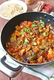 cuisine vegan mediterranean vegetable and chickpea stew one vegan