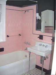 pink and black bathroom ideas 73 best what to do with a 50 s pink bathroom images on
