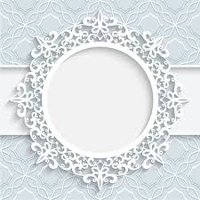 lace ornament paper frame vector free vector in encapsulated