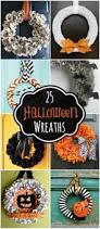Easy Halloween Wreaths by A Collection Of 25 Halloween Wreaths To Inspire You For Your