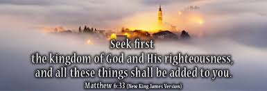 Seeking Where The Things Are Seek The Kingdom Of God A Safe Harbor Is Jesus