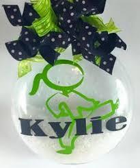 personalized karate christmas ornament by confettigiftsbyg on etsy