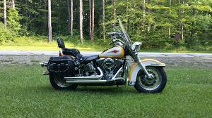 1995 harley davidson flstc heritage softail classic nugget